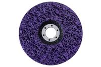Диск зачистной вспененный Intertool - 125 x 13 мм x P46 фиолетовый