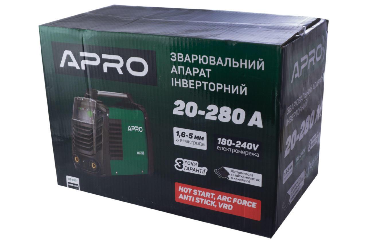 Сварочный инвертор Apro - MMA-280 5