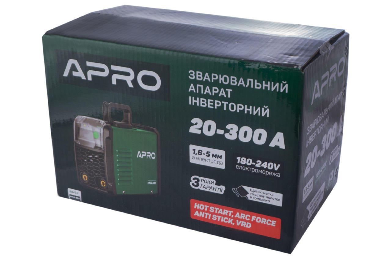 Сварочный инвертор Apro - MMA-300 5