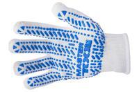 Перчатка Mastertool - 60/40 с точкой 90 г белые