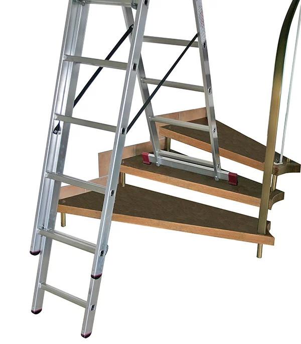 Чем отличается лестница от стремянки