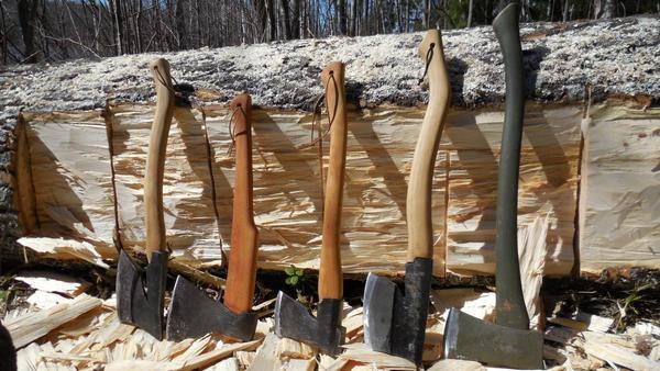 Топоры для валки леса