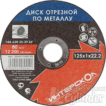 производители отрезных кругов для резки металла болгаркой